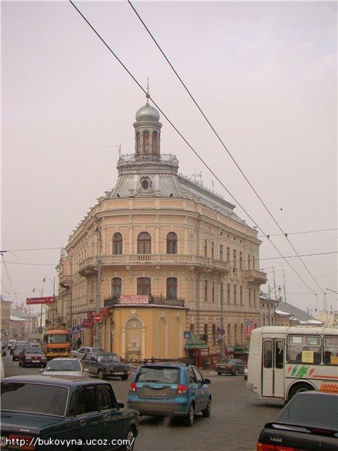 Ship (Schiff) House in Chernivtsi (Czernowitz); Дом-корабль в Черновцах; Будинок-корабель у Чернівцях