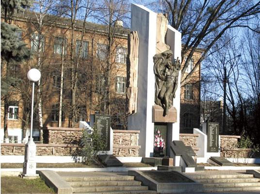 Monument to Bukovynians who died in Afghanistan, Chernivtsi (Czernowitz), Ukraine; Памятник воинам-афганцам в г.Черновцы (Украина); Пам'ятник воїнам-афганцям у м.Чернівці