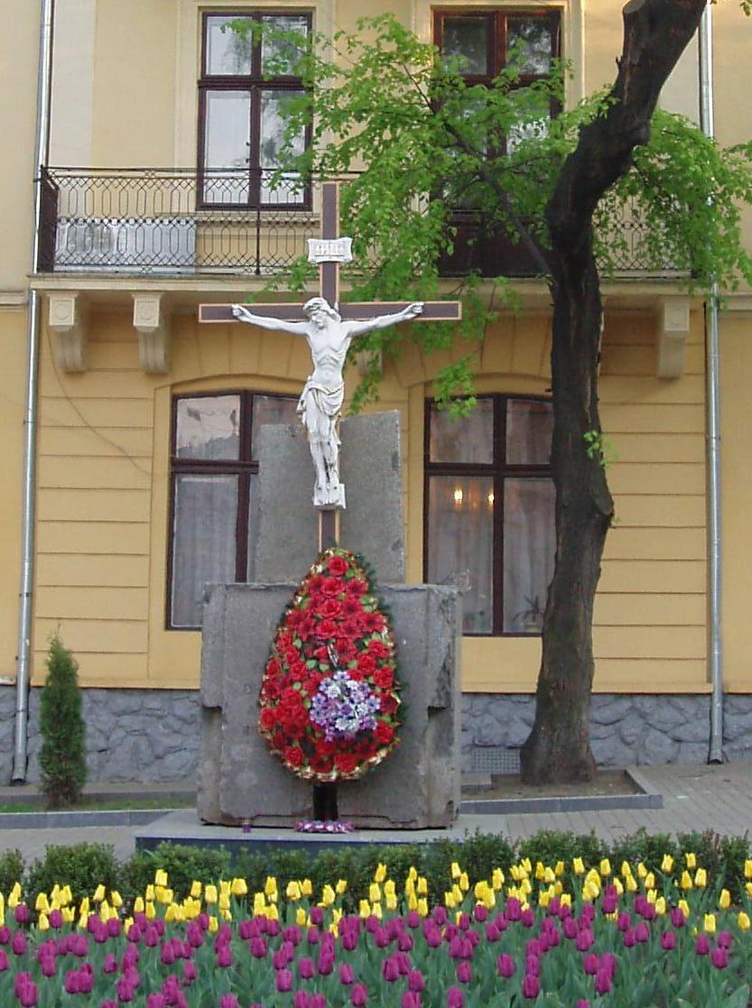 Monument to Romanian Soldiers in Chernivtsi (Czernowitz), Ukraine; Памятник румынским солдатам в г.Черновцы (Украина); Пам'ятник румунським солдатам у м.Чернівці