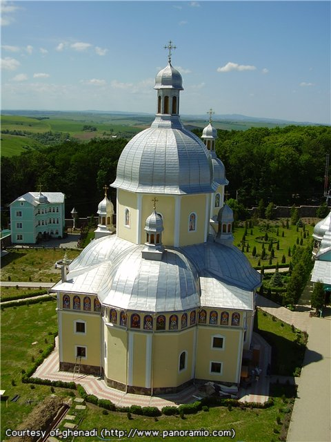 Ascension men s monastery in bancheny chernivtsi oblast ukraine